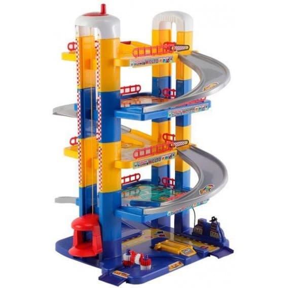 Игровой набор Molto Парковка 6 уровней 84 см