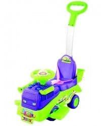 Каталка Toysmax Трейлер с ручкой зеленая
