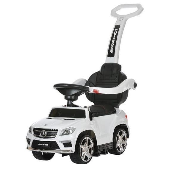 Каталка River Toys Mercedes-Benz A888AA-M с ручкой (лицензия)