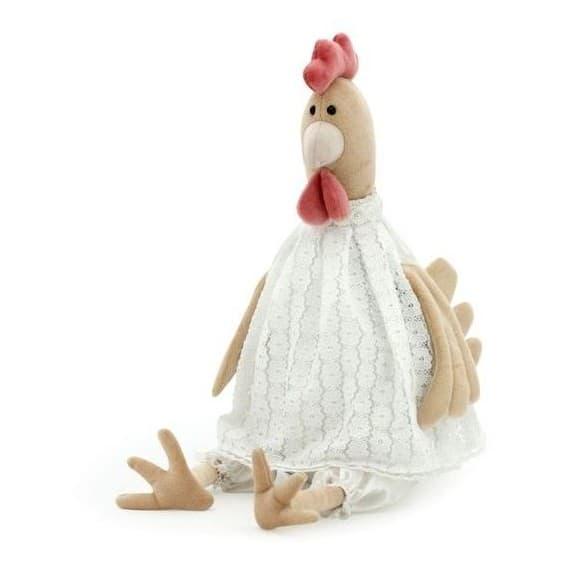 Мягкая игрушка Курочка Олеся 25 см