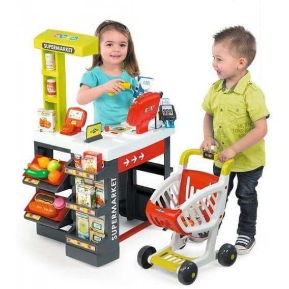 Игровой набор Smoby Супермаркет с тележкой