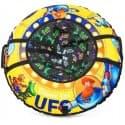 Тюбинг Cosmic Zoo UFO + камера 100 см