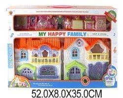 Дом с мебелью My happy family