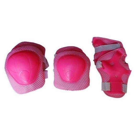 Комплект защиты X-Match розовый