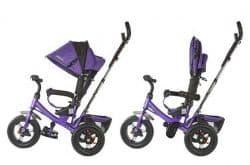 Трехколесный велосипед Moby Kids Comfort-2 фиолетовый