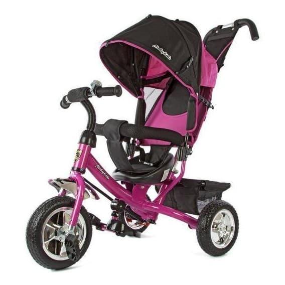 Трехколесный велосипед Moby Kids Comfort розовый